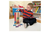 Melissa & Doug Stack & ct Wooden Parking Garage With 10 Cars
