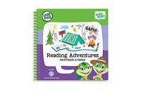 LeapStart® Reading Adventures with Health & Safety 30+ Page Activity Book Ages 4-6 yrs.