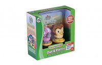 Learning Friends™ Owl & Parrot Figure Set with Board Book Ages 2-5 yrs.