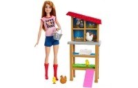 Black Friday 2020 - Barbie Chicken Farmer Doll & Playset