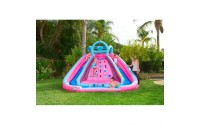 Black Friday 2020 - L.O.L. Surprise! Inflatable River Race Water Slide with Blower, Kids Unisex