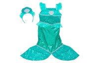 Melissa & Doug Mermaid Role Play Costume Set - Gown With Flaired Tail, Seashell Tiara, Women's