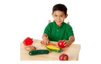 Black Friday 2020 - Melissa & Doug Playtime Produce Vegetables Play Food Set With Crate (7pc)