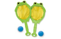 Black Friday 2020 - Melissa & Doug Sunny Patch Froggy Toss and Catch Net Game With 2 Balls