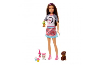 Barbie Sisters Skipper Doll and Ice Cream Accessory Set