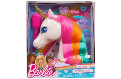 Barbie Dreamtopia Unicorn Styling Head 10pcs