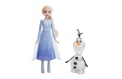 Black Friday 2020 - Disney Frozen 2 Talk and Glow Olaf and Elsa Dolls