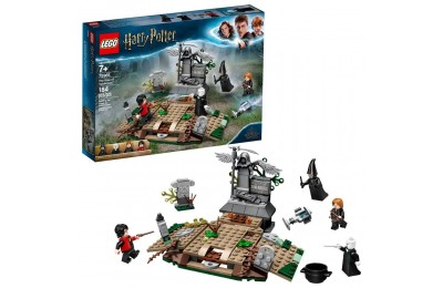 Black Friday 2020 - LEGO Harry Potter The Rise of Voldemort 75965 Wizard Minifigure Battle Action Building Set 184pc