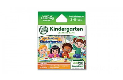 LeapPad® Game Cartridge 2-Pack Get Ready for Kindergarten & Preschool Adventures Ages 3-5 yrs.