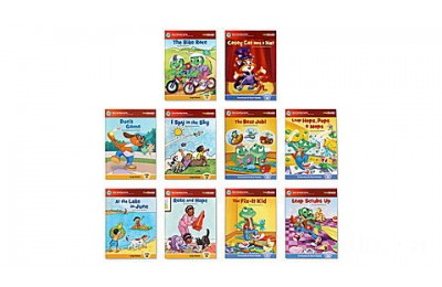 LeapReader® System and Learn-to-Read 10-Book Bundle (Pink) Ages 4-8 yrs.