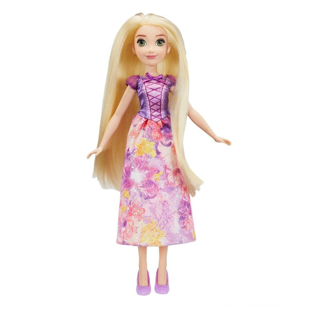 Black Friday 2020 - Disney Princess Royal Shimmer - Rapunzel Doll