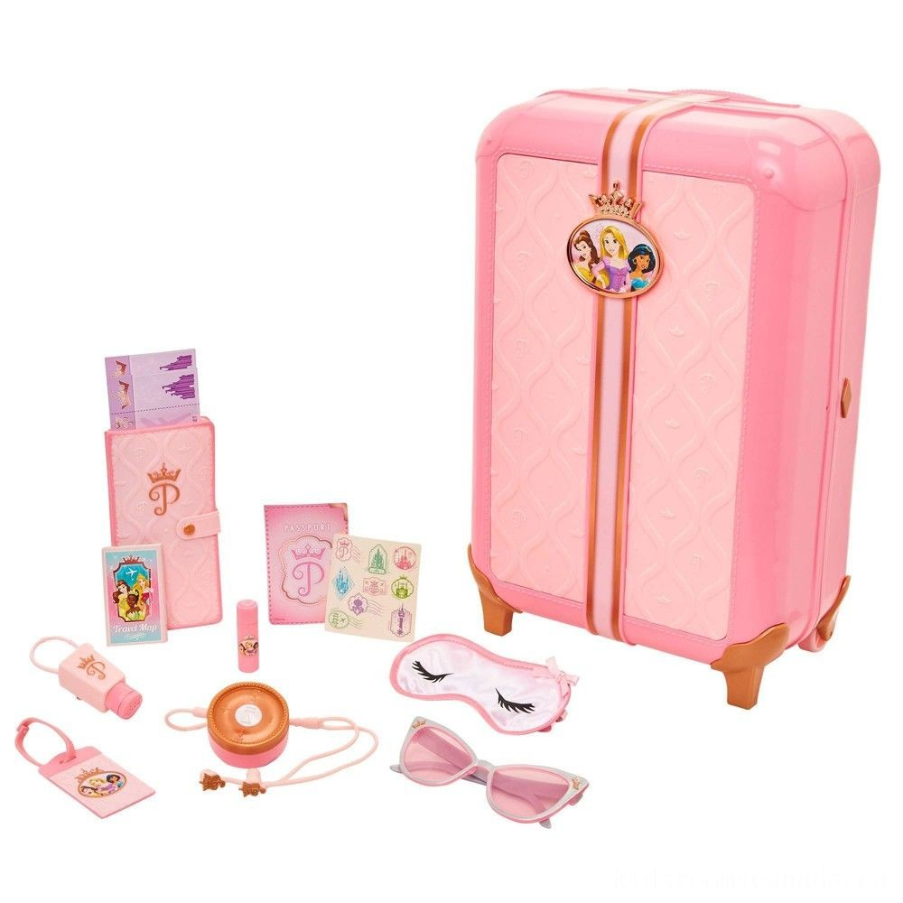 Black Friday 2020 - Disney Princess Style Collection Play Suitcase Travel Set