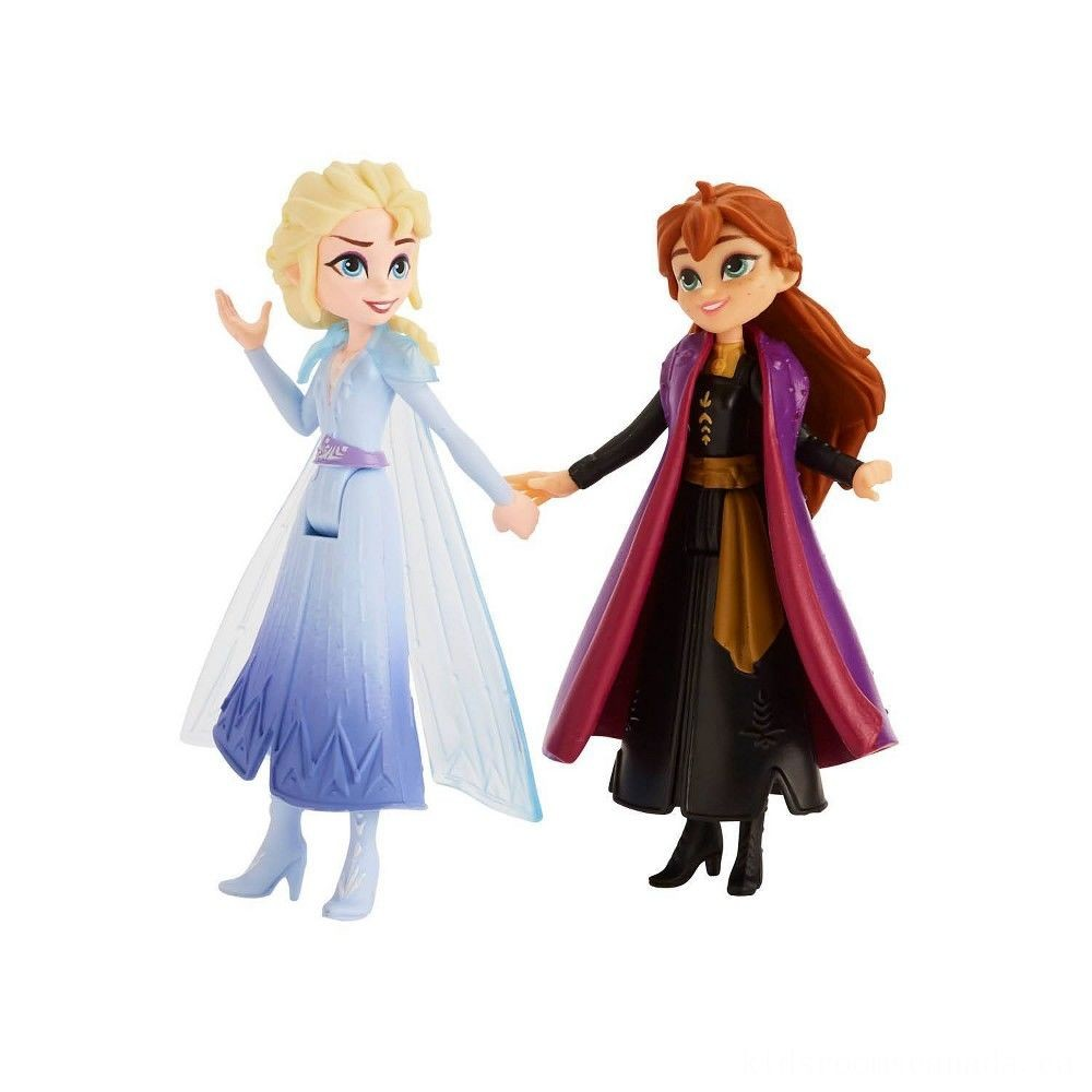 Black Friday 2020 - Disney Frozen 2 Adventure Collection, 5 Small Dolls from Frozen 2