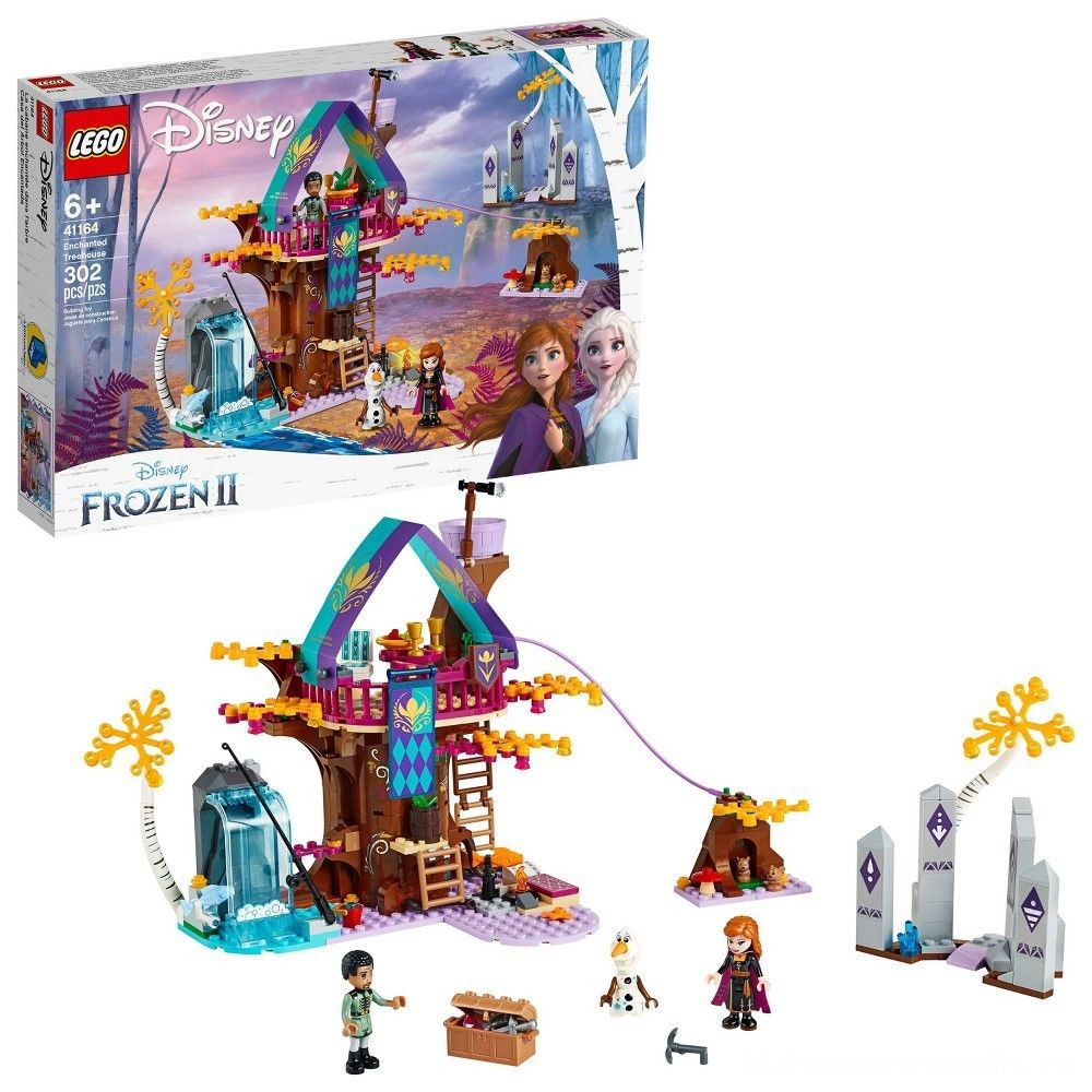 Black Friday 2020 - LEGO Disney Princess Frozen 2 Enchanted Treehouse 41164 Toy Treehouse Building Kit for Pretend Play