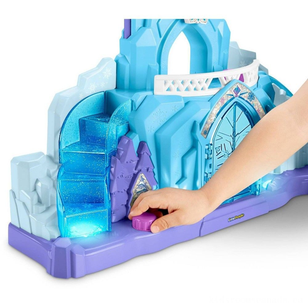 Black Friday 2020 - Fisher-Price Little People Disney Frozen Elsa's Ice Palace