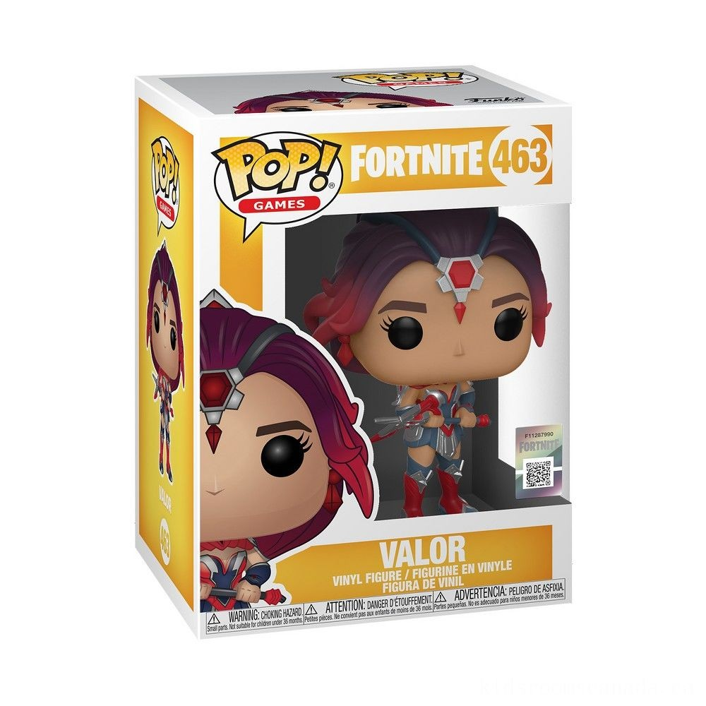 Black Friday 2020 - Funko POP! Games: Fortnite - Valor