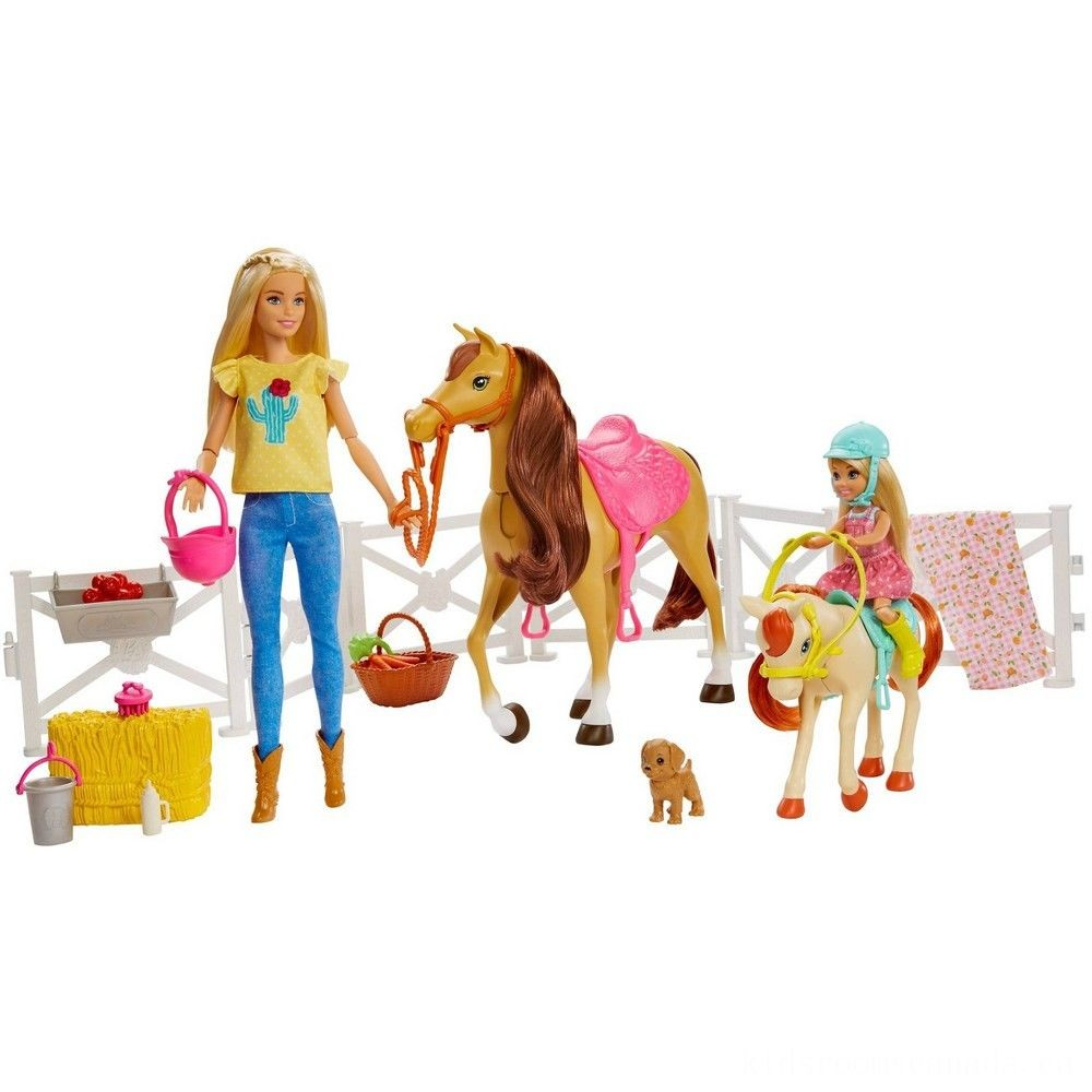 Black Friday 2020 - Barbie Hugs 'N' Horses Playset