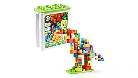 LeapBuilders® 81-Piece Jumbo Blocks Box™ Ages 2-5 yrs.
