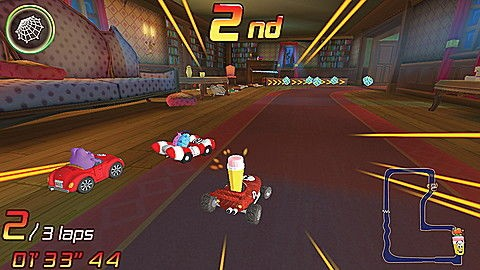 LeapTV™ LeapFrog Kart Racing: Supercharged! Educational, Active Video Game Ages 5-8 yrs.