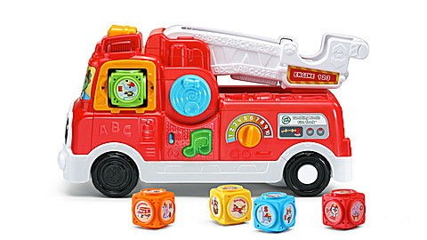 Tumbling Blocks Fire Truck™ Ages 1-4 yrs.