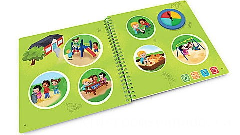 LeapStart® First Day of School with Critical Thinking 30+ Page Activity Book Ages 3-5 yrs.