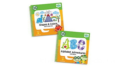 LeapStart® Level 1 Preschool Activity Book Bundle Ages 2-4 yrs.