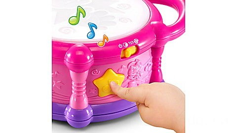 Learn & Groove® Color Play Drum (Pink) Ages 6-36 months