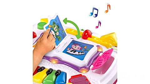 Learn & Groove® Musical Table (Pink) Ages 6-36 months