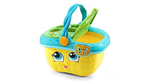 Shapes & Sharing Picnic Basket™ (Yellow) Ages 6-36 months