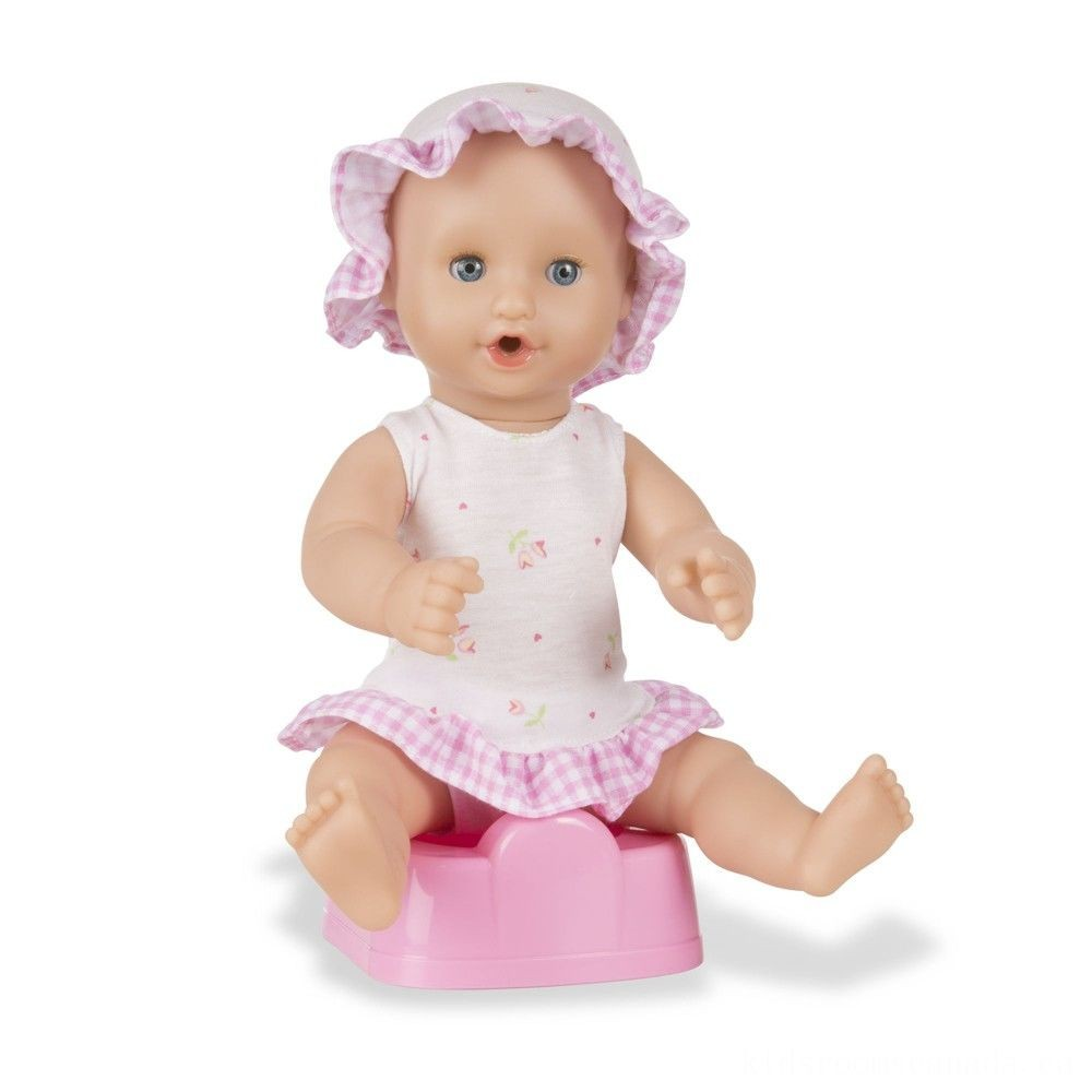 """Melissa & Doug Mine to Love Annie 12"""" Drink and Wet Baby Doll"""