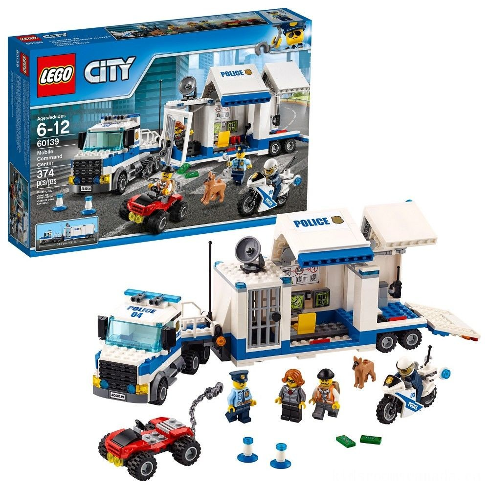 Black Friday 2020 - LEGO City Police Mobile Command Center 60139